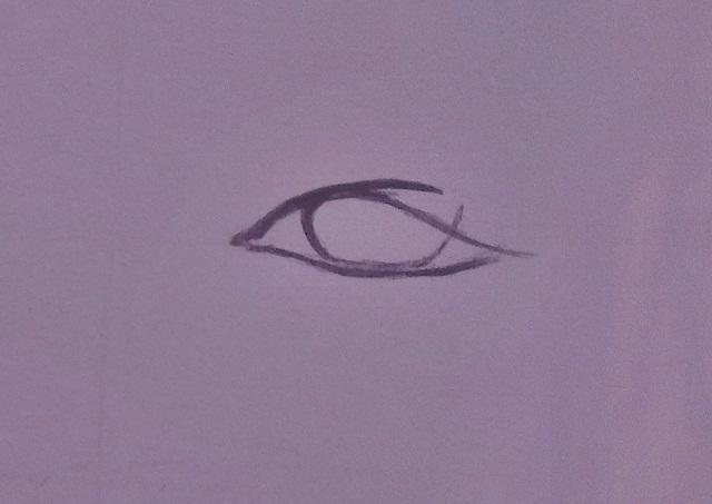 Iesākums Parastas līnijas lai... Autors: Siluets Mēģinot zīmēt ar pildspalvu.