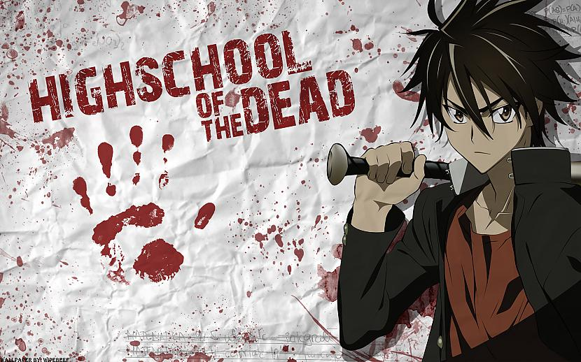 HigSchool Of The Dead  Sausmu Autors: Game Edits Anime Top 20