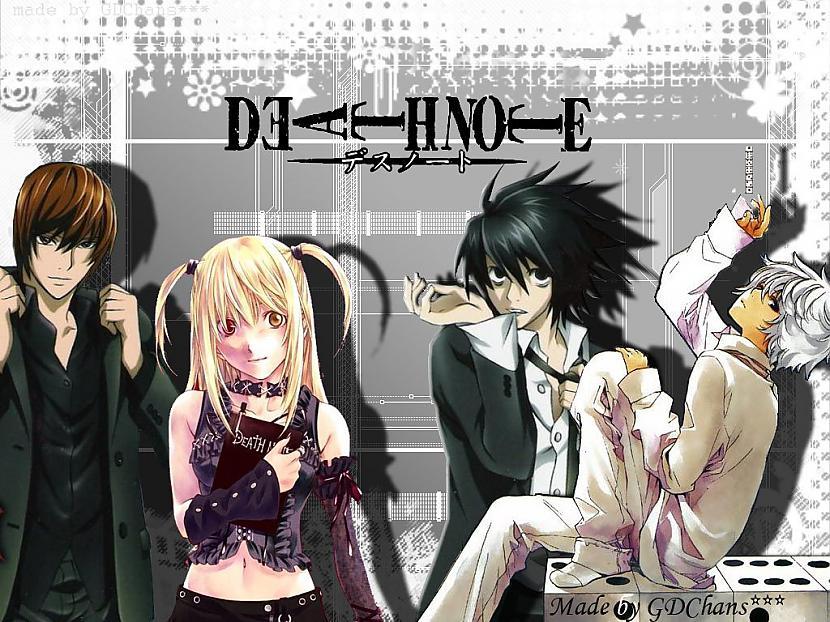 Death Note  MisterijaDrama Autors: Game Edits Anime Top 20