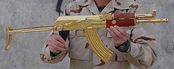 Scaroneit Zelta ierocis redzam... Autors: davidoff15 Zelta AK-47