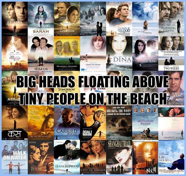Lielas galvas kas quotpeldquot... Autors: zlovegood Kā uztaisīt labu filmas plakātu?