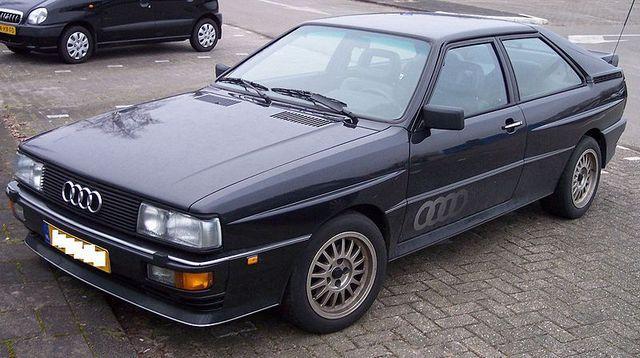 Audi Quattro B2 priekscaronas... Autors: twitter15 Audi Coupe