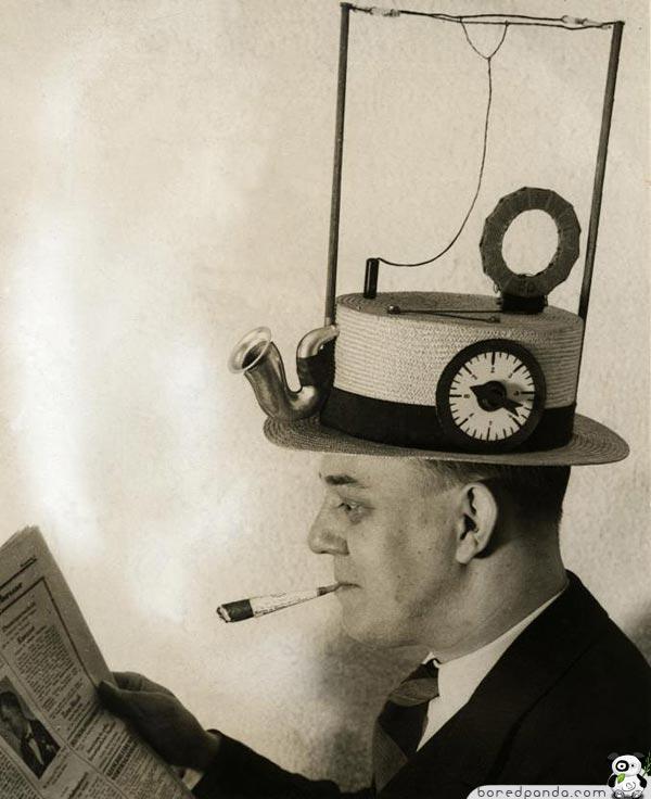 Radio cepure Amerikas... Autors: Fosilija 20.gs. trīsdesmito gadu izgudrojumi