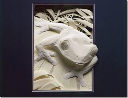 Autors: Fosilija Apbrīnojama 3D papīra māksla