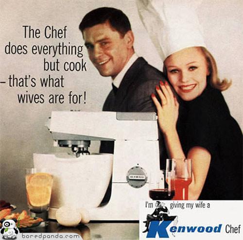 Tiescaroni tāpēc sievas ir... Autors: Fosilija Reklāmas, kas mūsdienās būtu aizliegtas