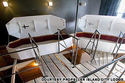 5Propeller Island City Lodge... Autors: R1DZ1N1EKS Viesnīcas, kurās uz romantiku prāts nenesas.