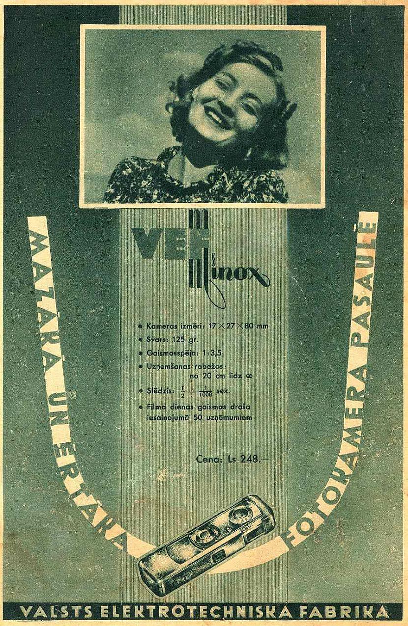 1945 gada rudenī pusgadu pēc... Autors: Mahitoo Pasaulslavenais MINOX fotoaparāts