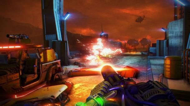 Autors: WreckLv Far Cry 3   - Blood Dragon pirmie ekrānšāviņi