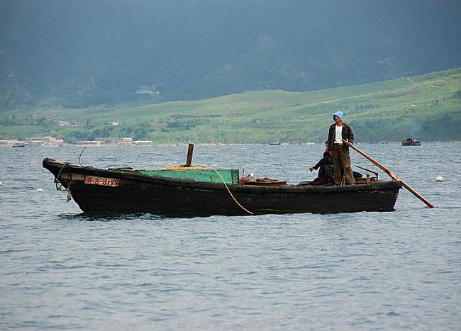 Zvejnieku laiva kurai ir arī... Autors: Raziels Ziemeļkoreja, kāda tā ir