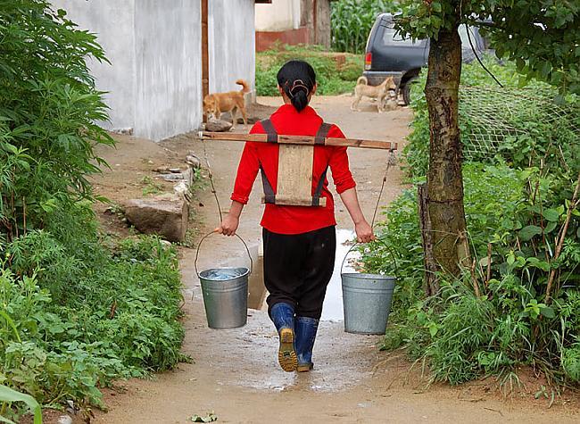 Tā kā ūdensvada nav pat... Autors: Raziels Ziemeļkoreja, kāda tā ir