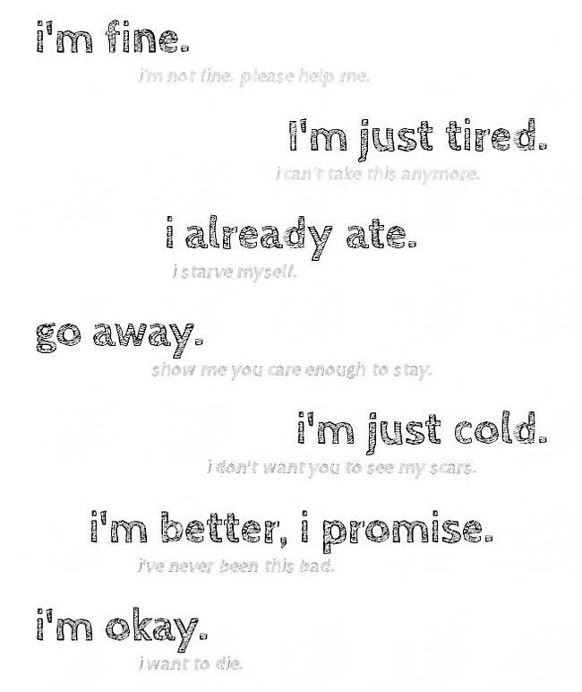 Autors: Fosilija Pro-ana, depression and suicide