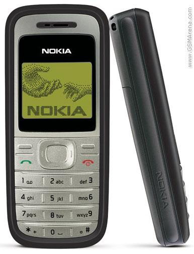 Nokia 1200 izlaists 2007 gadā... Autors: Fosilija Top 20 pārdotākie telefoni pasaulē.
