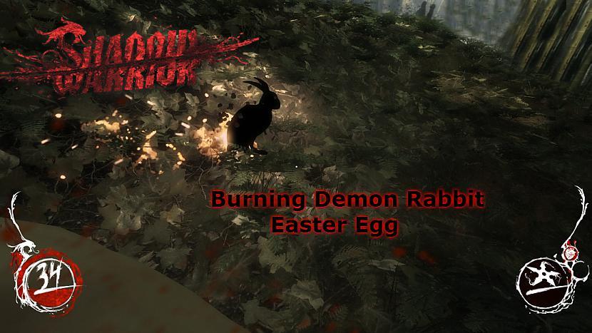 Autors: Kreejumss Shadow Warrior - Demon Rabbit Easter Egg