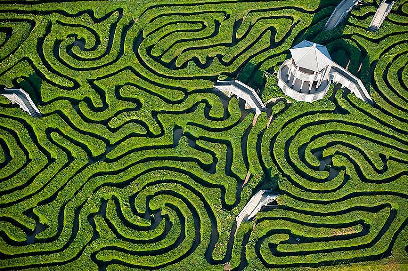 Longleat Labirints Anglijā Autors: Šamaniss Kā izskatītos pasaule ja tu būtu putns.