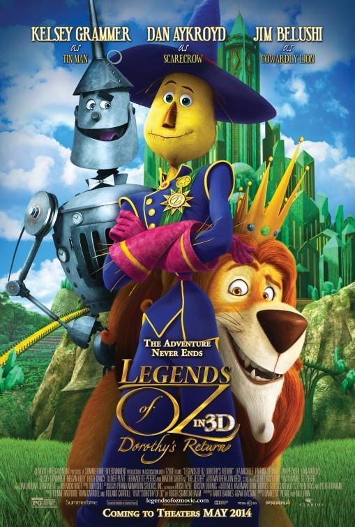 Legends of Oz Dorothys Return... Autors: ČOPERS 2014.gada gaidītākās filmas #3