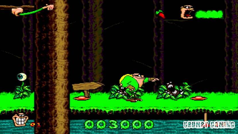 Buggerman  PuņķucilvēksSpēle... Autors: Werkis2 Manas bērnības Sega Mega Drive 2 spēlītes un interesantas atmiņas.