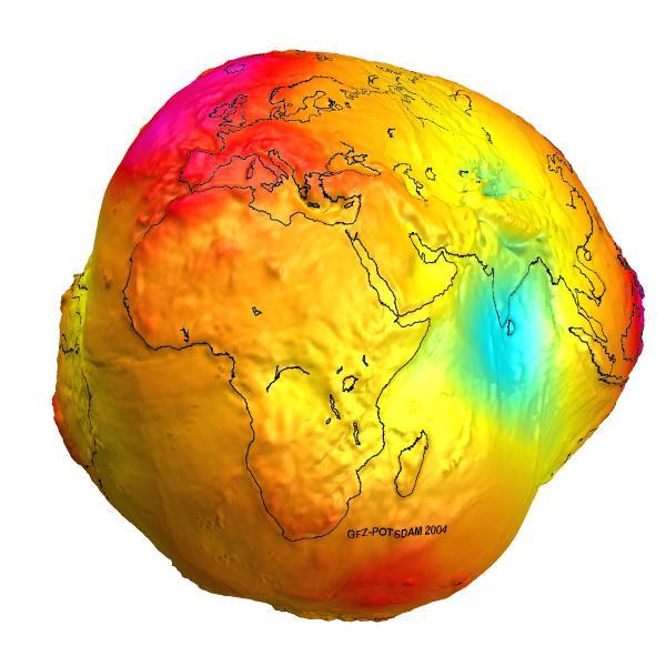 Zeme nav pilnīgi apaļaZeme ir... Autors: Raacens Megafakti par mūsu planētu