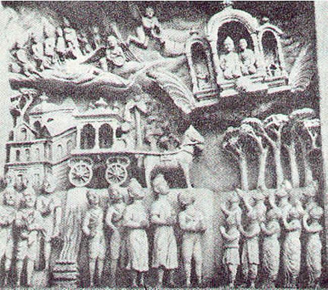 Akmens skulptūra senajā Indijā... Autors: Moonwalker 15 neizskaidrojamas parādības
