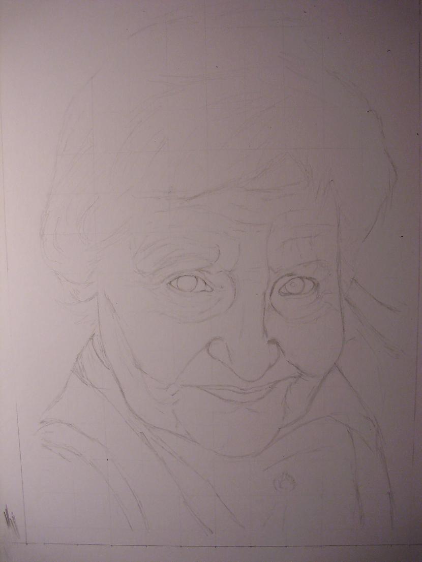Vecmāmiņai 1 janvārī ir... Autors: Ostina Jauns zīmējums + 2013.gada darbi+senāki
