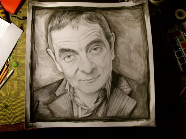 Rowan Atkinson ... Autors: Ostina Jauns zīmējums + 2013.gada darbi+senāki