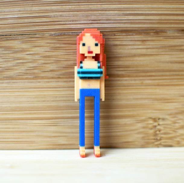 Autors: Šamaniss Izprintē 3D Ēzeli no sava Iphone.