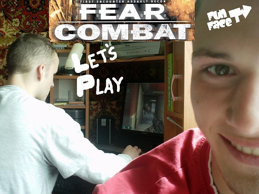 Autors: zeminem2 Let's play: F.E.A.R COMBAT (bgcentrs&nereaalais)