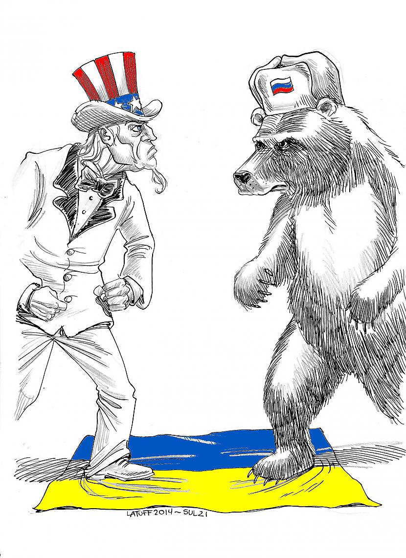 Gribu nedaudz parunāt par... Autors: Savādākas ziņas Ļaunā ASV : Labā Krievija