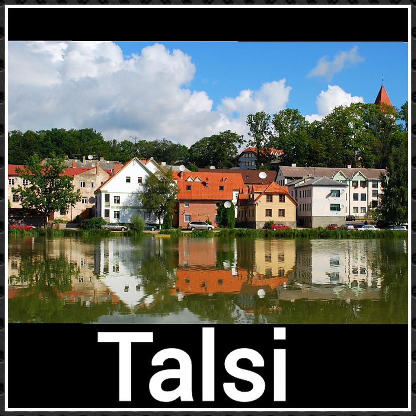 Talsi ... Autors: ghost07 8 Skaistāko Latvijas pilsētu panorāmas