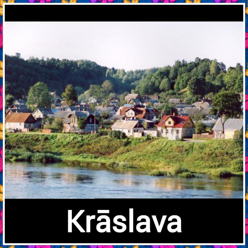 Krāslava  Iedzīvotāju skaits 9... Autors: ghost07 8 Skaistāko Latvijas pilsētu panorāmas