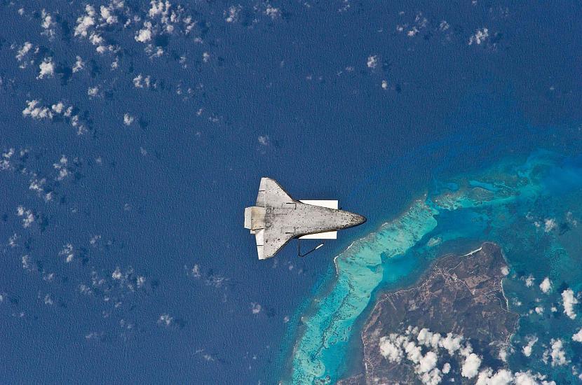 Scaronatls Atlantis pavērsts... Autors: Prāta Darbnīca Neparasti attēli no Zemes orbītas