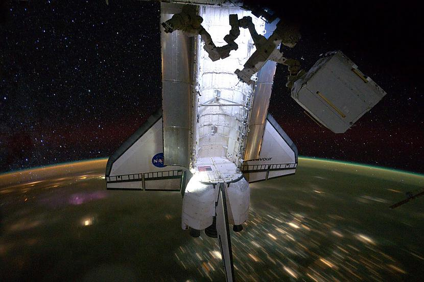 Atlantis strādā Autors: Prāta Darbnīca Neparasti attēli no Zemes orbītas