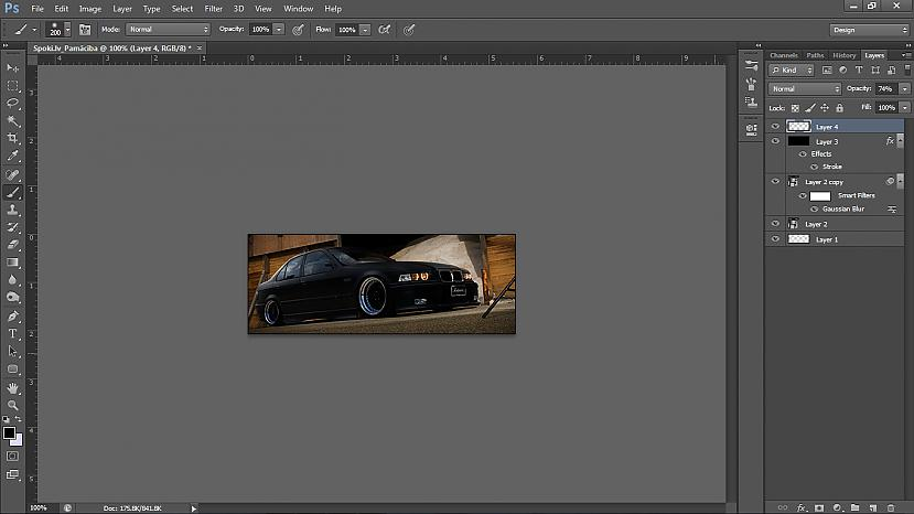 Pievienosim uz malām mazliet... Autors: UsernameTaked Photoshop pamācība: Viegla signature no HD kvalitātes wallpaper'a
