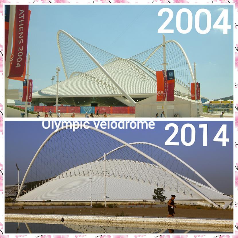 Atēnu olimpisko spēļu... Autors: ghost07 Kā izskatās Atēnu olimpiskie objekti pēc 10 gadiem?