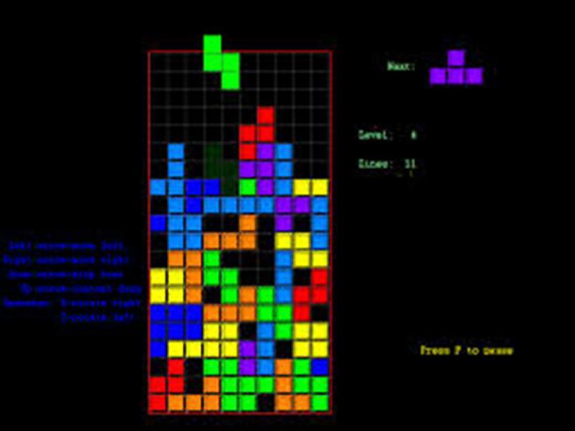 Tetris Klasika Pat nezinu ko... Autors: The Diāna Atceries? Tavas bērnības spēles.