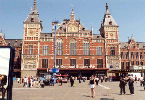 Amsterdama Nīderlande Autors: SinagogenBombardiren Dzelzceļa stacijas Eiropas galvaspilsētās