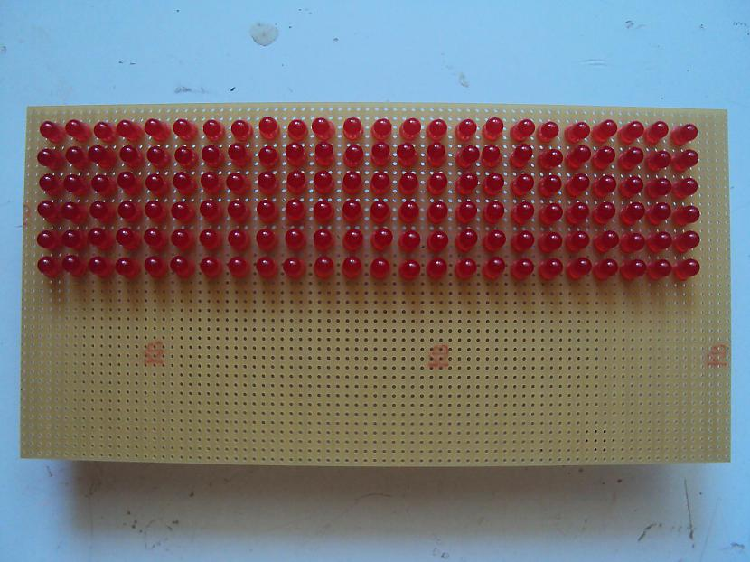 Pirmais solis gatavs Autors: BL3NDeris DIY LED matrix