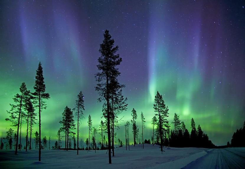 Polārblāzma naktī Autors: AdriansLV 10. skaistākās vietas uz planētas