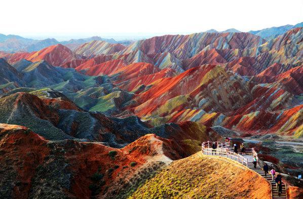 Zhangye Danxia Landform Gansu... Autors: Mārtiņš2 Vietas kuras jāredz pirms nāves