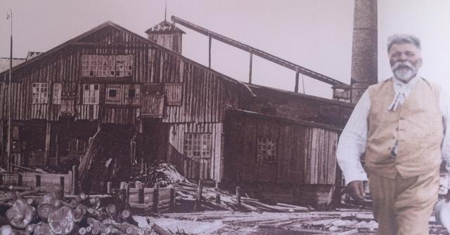 A Dombrovska kokzāģētava1888... Autors: ieva5 Rūpniecība Vecmilgrāvī