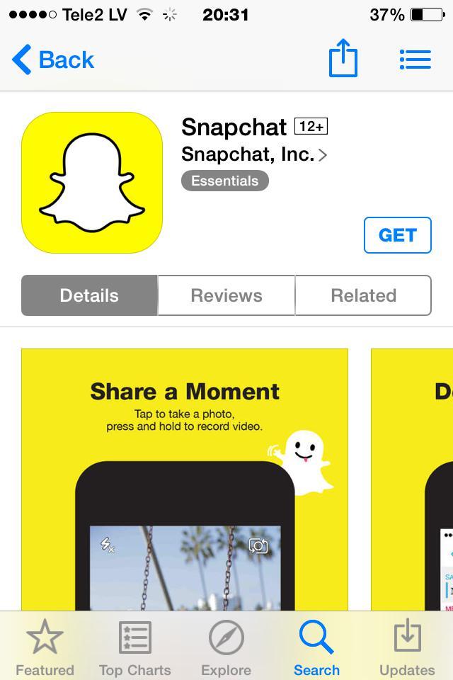 snapchat video čats Autors: Asniņš asnisb j 5 manas favorītu aplikacijas Decembrī
