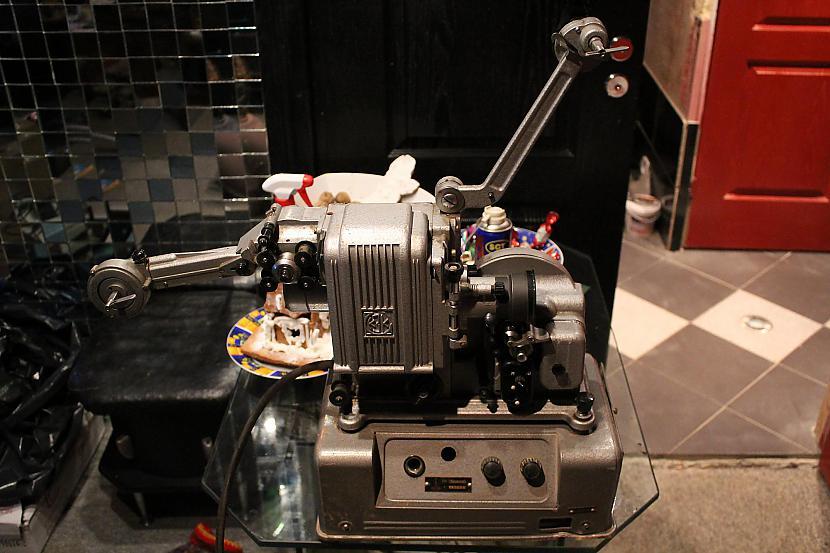 Kīno projektors Pu  16  4 16mm... Autors: chechens5 Mani jaunumi 15.01.18.