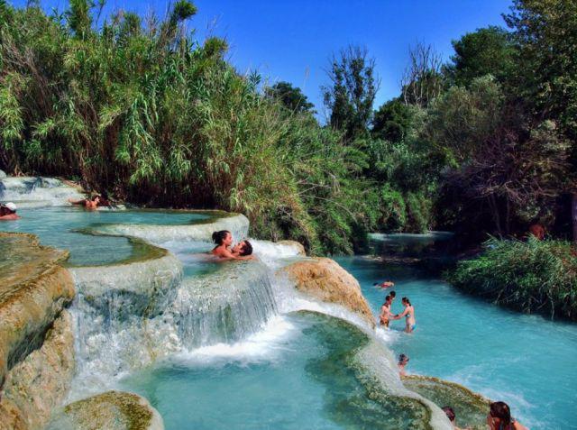 Cascata Del Mulino Tuscany Autors: im mad cuz u bad Kur vislabāk pavadīt Valentīndienu?