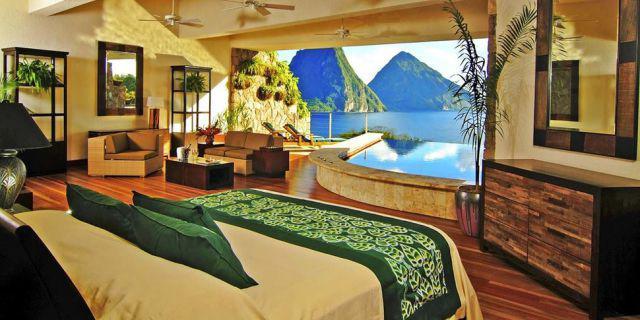 Jade Mountain Resort St Lucia Autors: im mad cuz u bad Kur vislabāk pavadīt Valentīndienu?