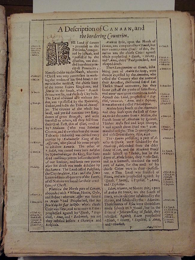 Scaroneit redzamas dažas tās... Autors: Sātans Tā izskatās gandrīz 400 gadus veca bībele.