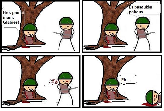 Autors: AncientWorld Komiksu - Karš I