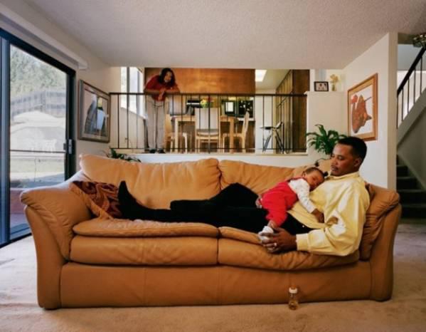 Autors: Fosilija 34 bildes, kurās parādīts, kā dzīvo vidēji turīgi amerikāņi