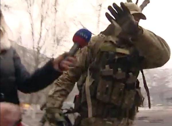 Autors: tanks Mariupole - Ukrainas Azov bataljonā algotņi