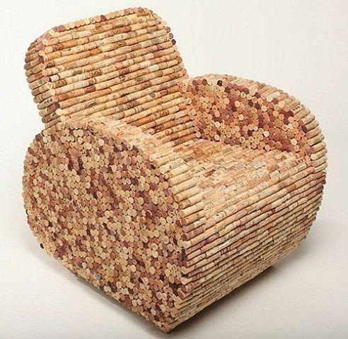 Krēsls no korķiem Autors: MazAa888 Kaut kas neparasts