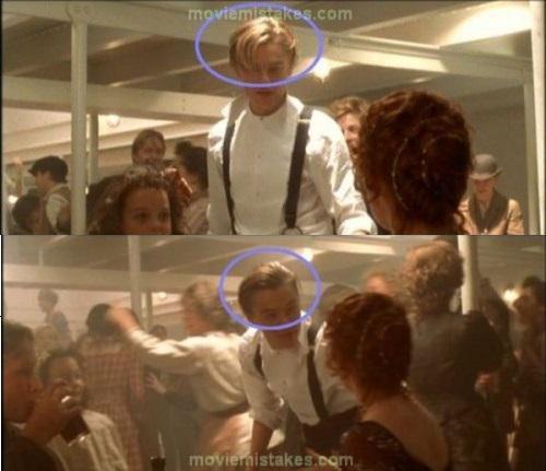 Dejojot Džeka mati ir... Autors: Fosilija Lielākās kļūdas uzņemot filmu ''Titāniks''