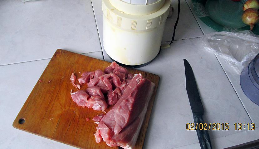 Mal to gaļu un iegūsi malto... Autors: rasiks Šorīt brokastīs. Nopietni jokojot